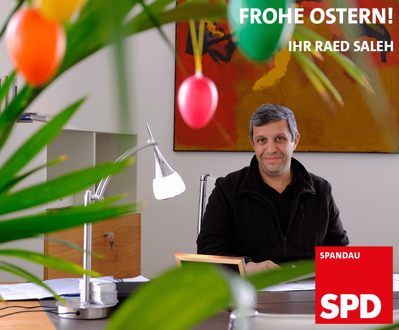 Ostergruß der Spandauer SPD