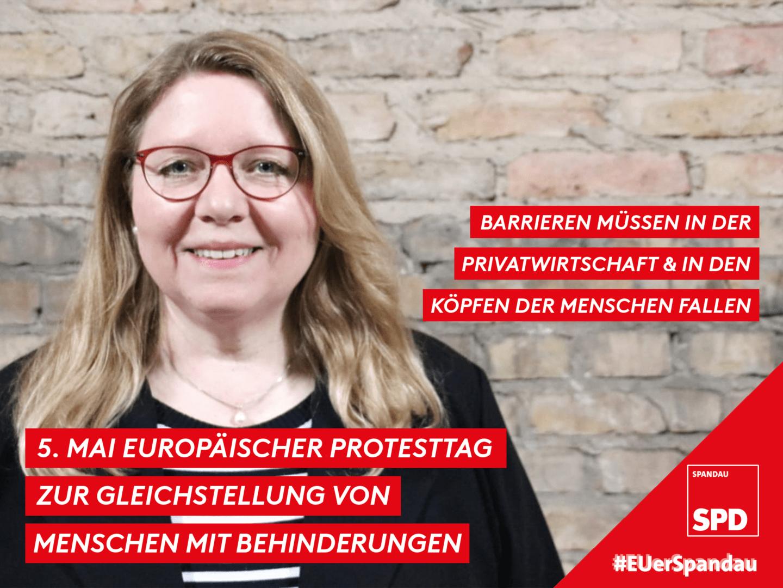 PROTESTTAG ZUR GLEICHSTELLUNG FÜR MENSCHEN MIT BEHINDERUNG 1