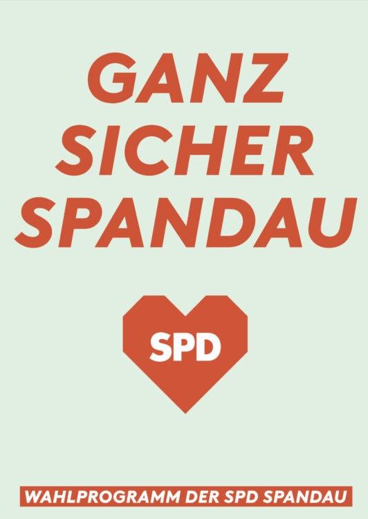 Wahlprogramm der SPD für Spandau 1